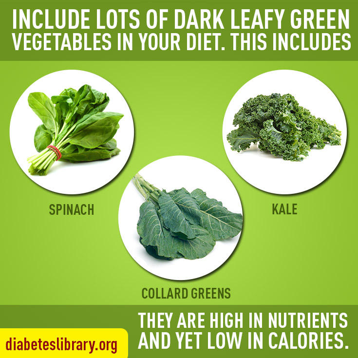 include leafy vegitables
