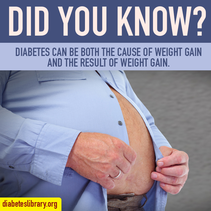 diabetes and weight gain